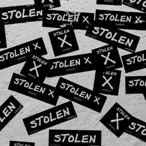 Stolen Sticker