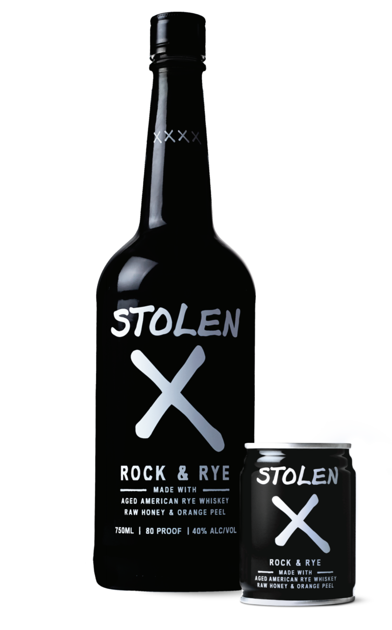 Stolen X Bottle and Can